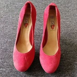 Shoes - B Love fashion platform heel shoe size 9